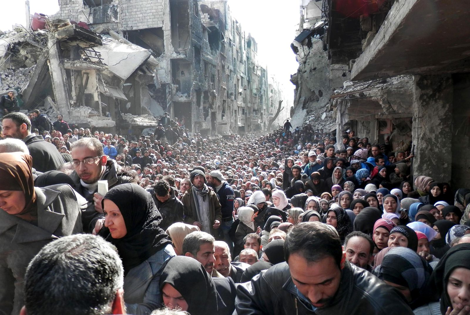 Hunger in Syrien/