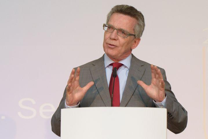 """Thomas de Maizière: """"Die Scharia wird auf deutschem Boden nicht geduldet"""""""
