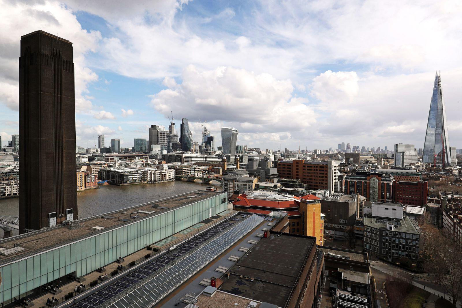 London Banken / Konjunktur / Banken-Viertel / Wirtschaft / England / Finanzzentrum