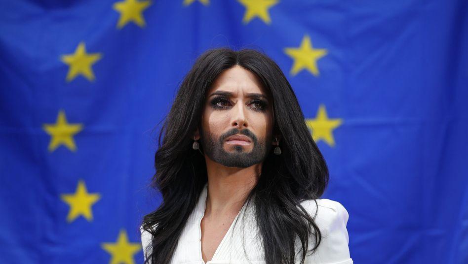 ESC-Gewinnerin: Conchita Wurst wirbt im EU-Parlament für mehr Toleranz