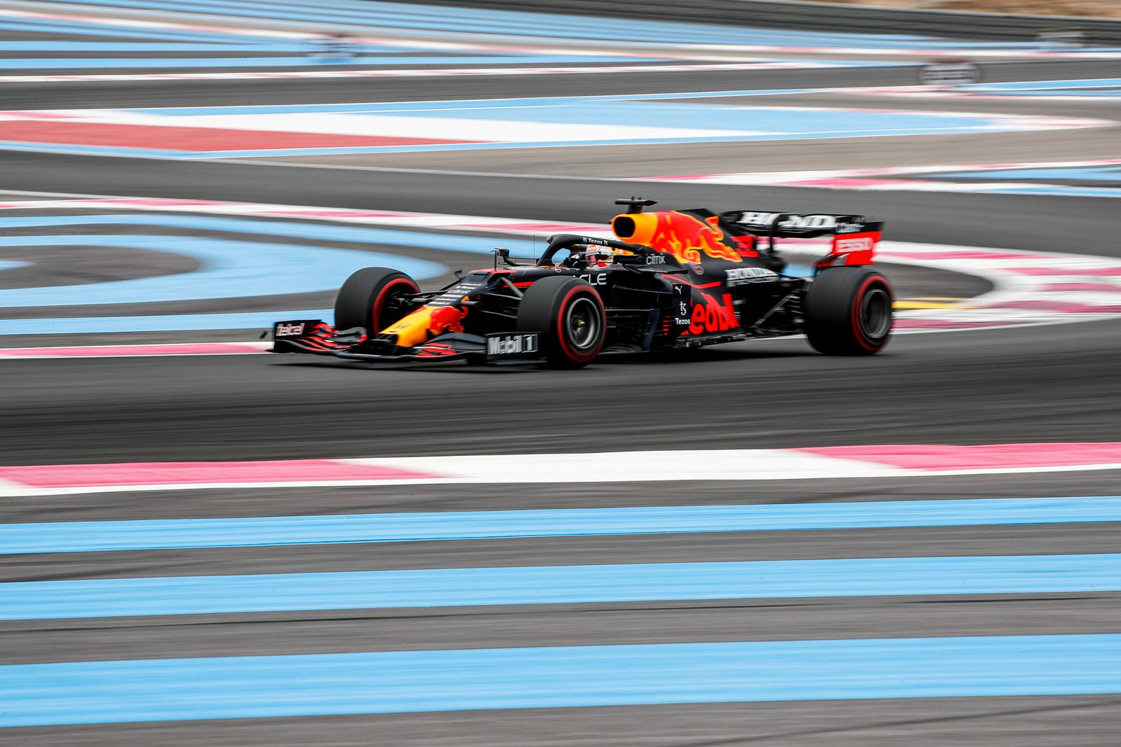 Formula 1 2021: French GP CIRCUIT PAUL RICARD, FRANCE - JUNE 19: Max Verstappen, Red Bull Racing RB16B during the French