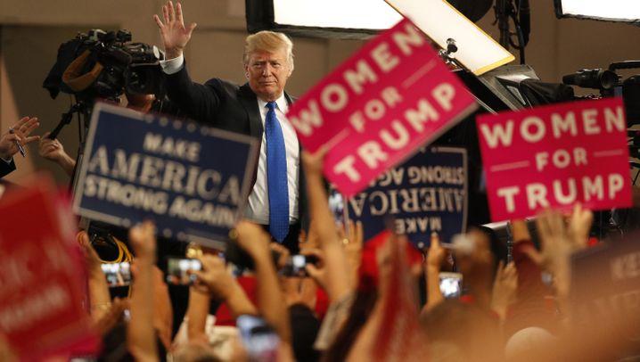 Trump in Las Vegas: Wahlkampf im Glücksspielparadies