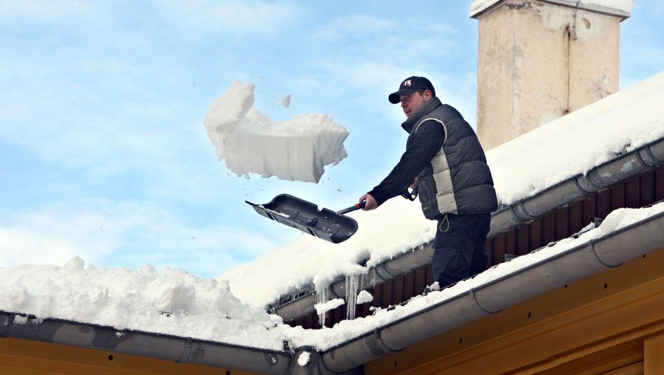Schneefall in Oberbayern (im Januar): Wie teuer wird der Winter?