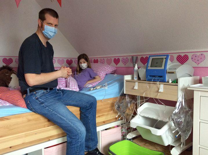 Helens Kinderzimmer daheim war eine Krankenstation.