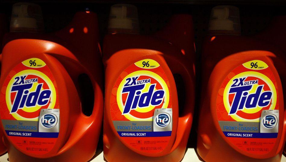"""Waschmittelmarke """"Tide"""" von Procter & Gamble"""