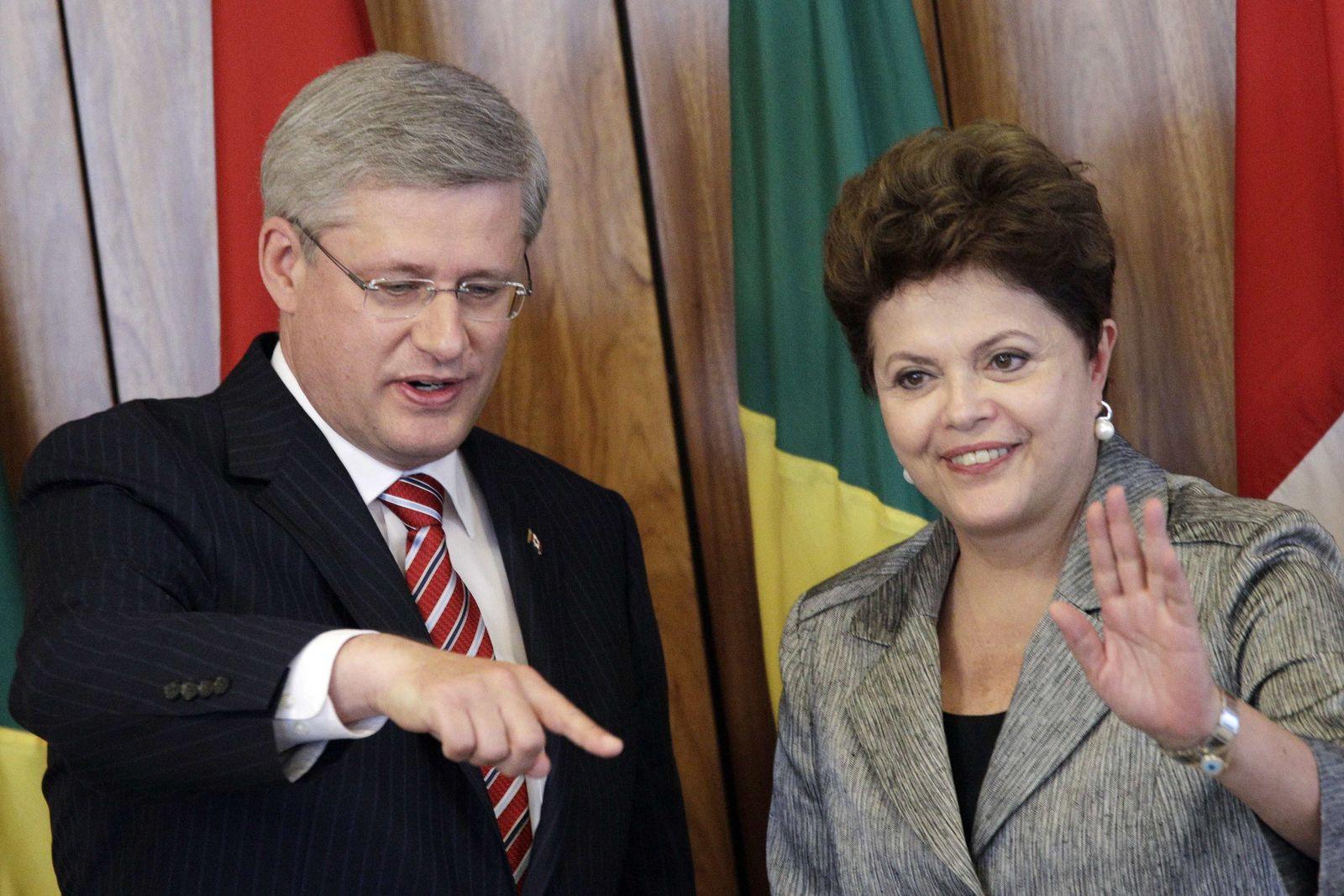 Rousseff / Harper