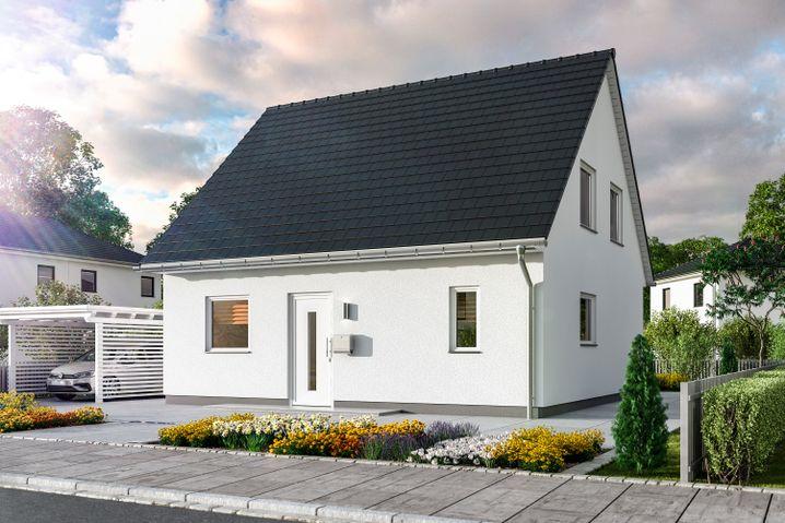 """Modellhaus """"Flair 113"""": """"Das ist immer eine Standardarchitektur"""""""
