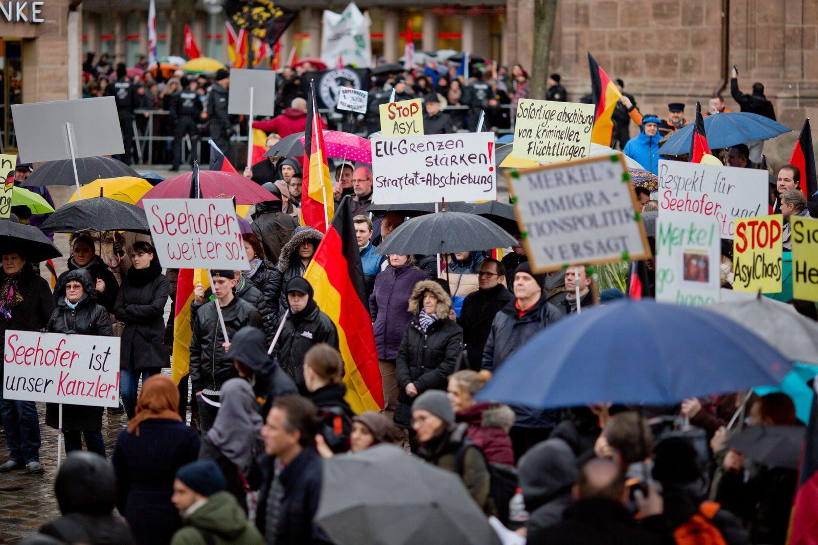 Russlanddeutsche / Demonstration / Sichere Heimat