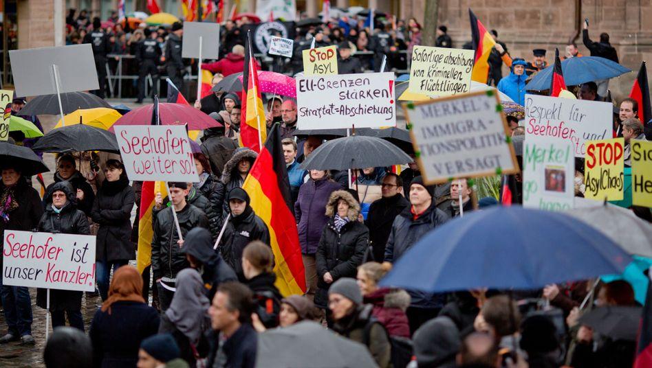 Kundgebung mit Russlanddeutschen in Nürnberg (Archiv)
