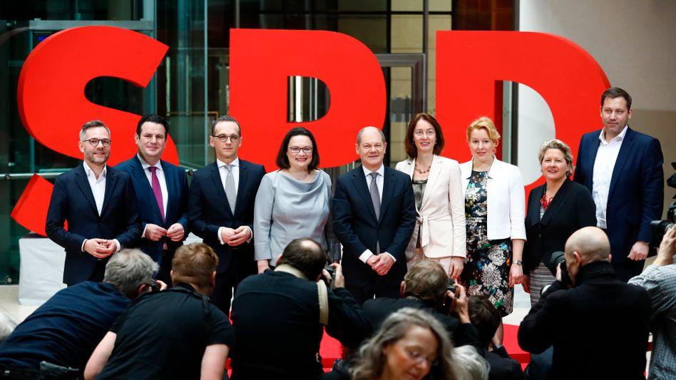 Das neue Spitzenpersonal der SPD