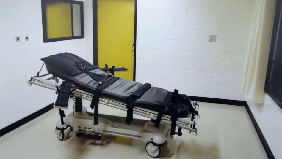 Todeszelle in einem Gefängnis im US-Bundesstaat Georgia