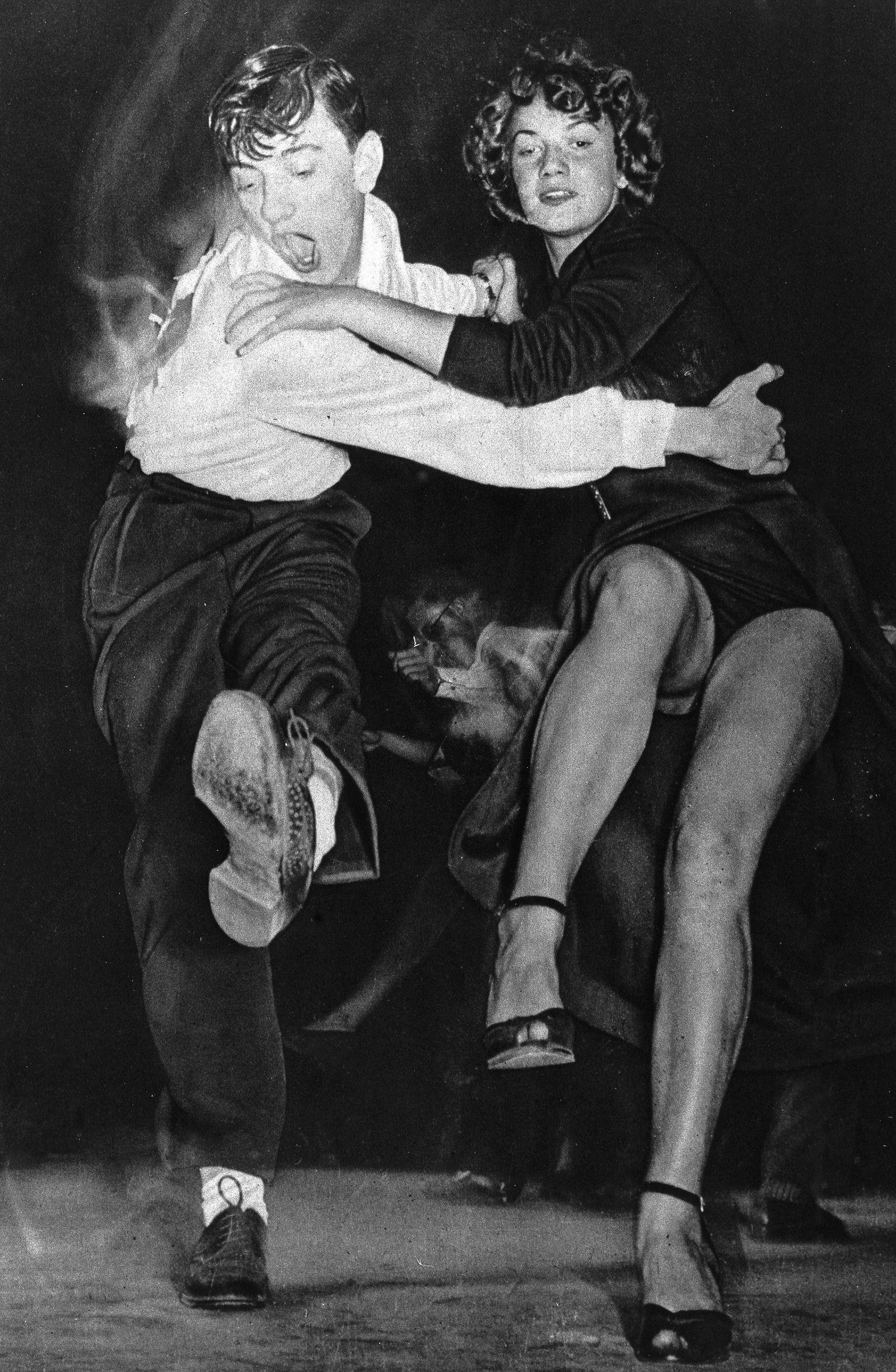 Rock'n Roll / Boogie Woogie: Tanzpaar - 1950