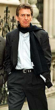 Gezeichnet vom langen Leidensweg: George Harrison 1999