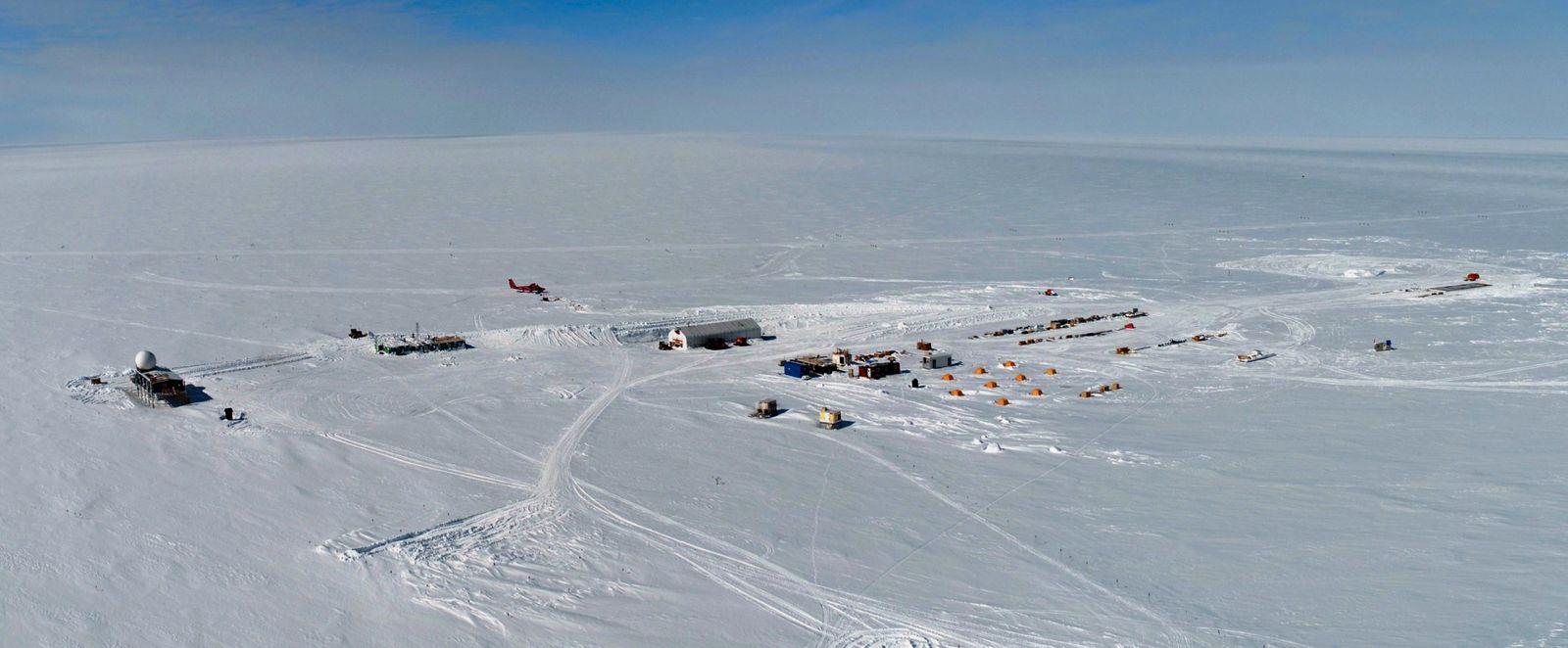 Summit Camp Greenland