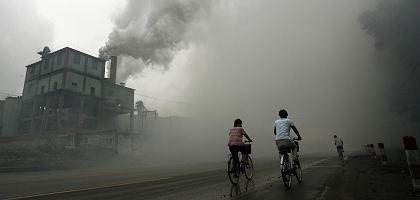 """Fabrik in Yutian, China: """"Wir haben es in Zukunft mit einem Klima zu tun, das weit über alles hinausgeht, was wir auf Basis von Simulationen bisher ernsthaft erwogen haben"""""""