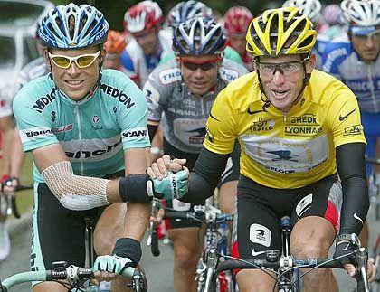 Tourrivalen Armstrong und Ullrich: Erste verbale Attacke
