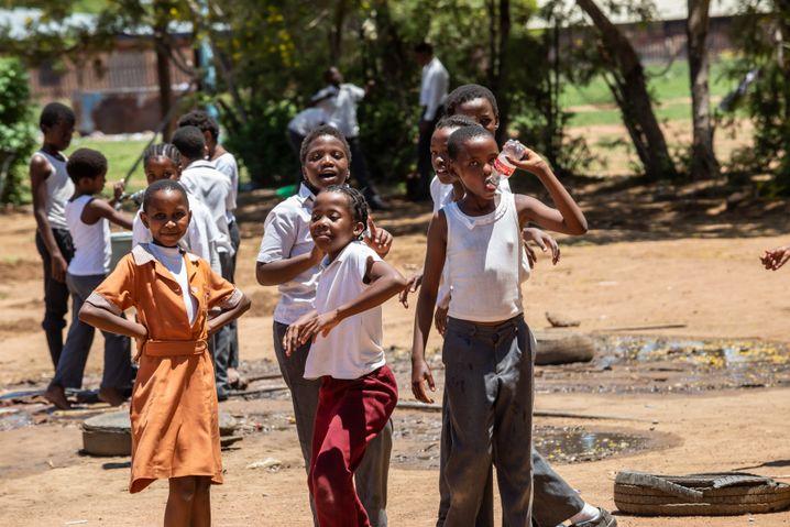 90 Prozent der Kinder in Botswana besuchen die Schule