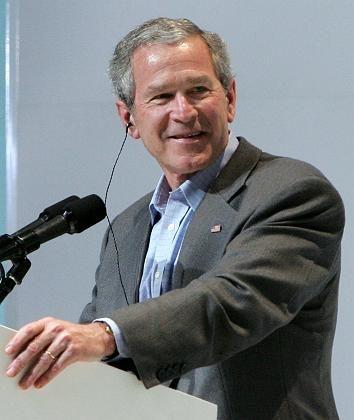 Bereit zur Hilfe für Erdebebenopfer: George W. Bush