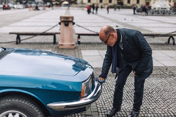 Treue: Erik Spiekermann und sein NSU Ro 80 verbinden 30 Jahre
