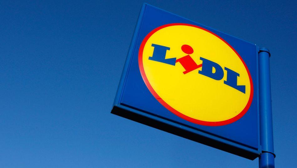 Logo von Lidl (Archiv): Außerhalb Londons 8,20 Pfund, in der Hauptstadt 9,35 Pfund