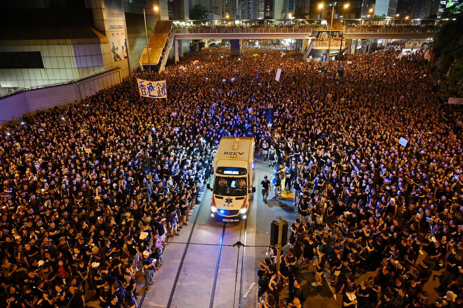 Hongkong/ Protest