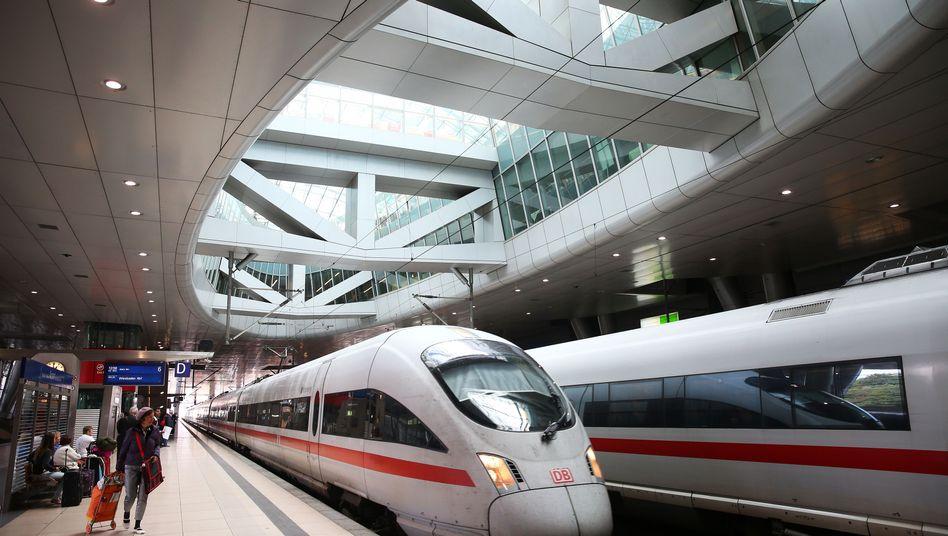Züge in Frankfurt: Schwaches Ergebnis für 2013