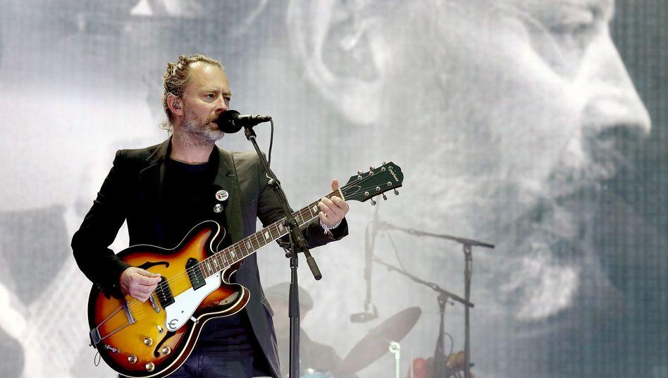 Thom Yorke von der Band Radiohead