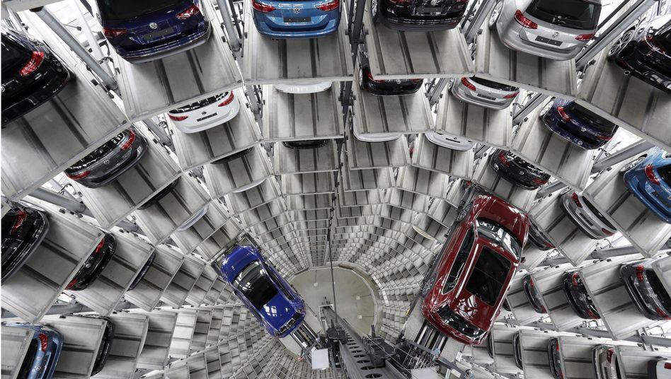 VW-Gebäude in Wolfsburg
