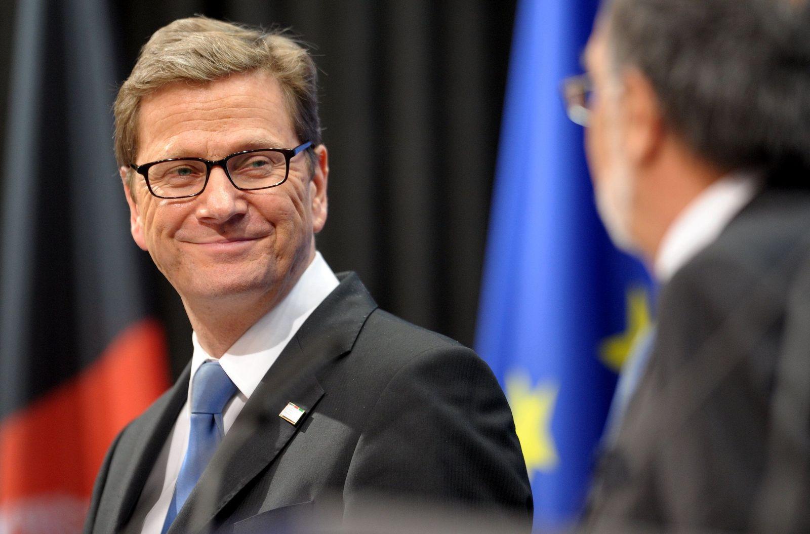 Guido Westerwelle / Afghanistan-Konferenz Bonn