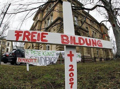 """Protest gegen Studiengebühren (in Karlsruhe): """"Die Rechnung geht nicht auf"""""""