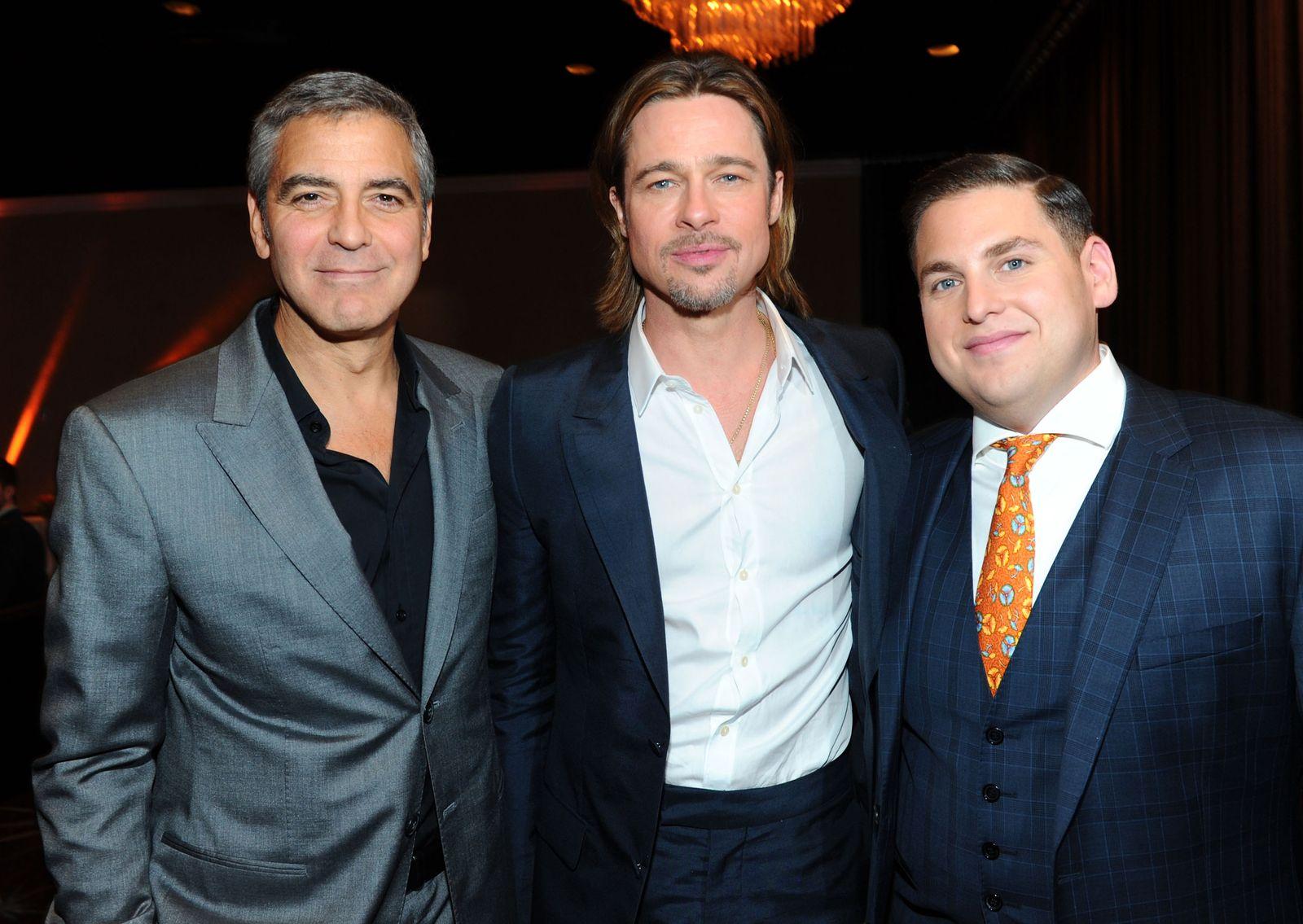 Clooney/ Pitt