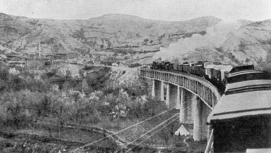 The Baghdad Railway in 1910