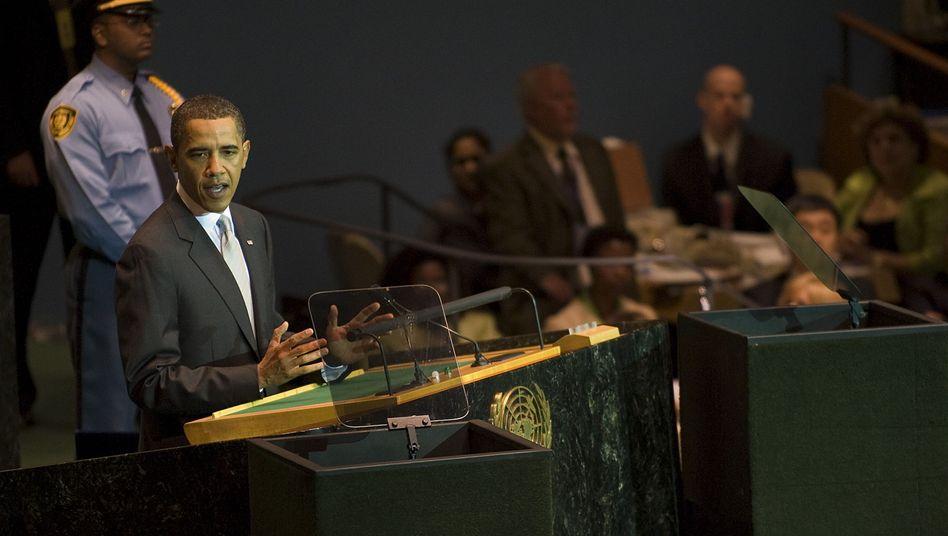 """Barack Obama vor der Uno-Vollversammlung: """"Wohlstand und Sicherheit sind in Gefahr"""""""
