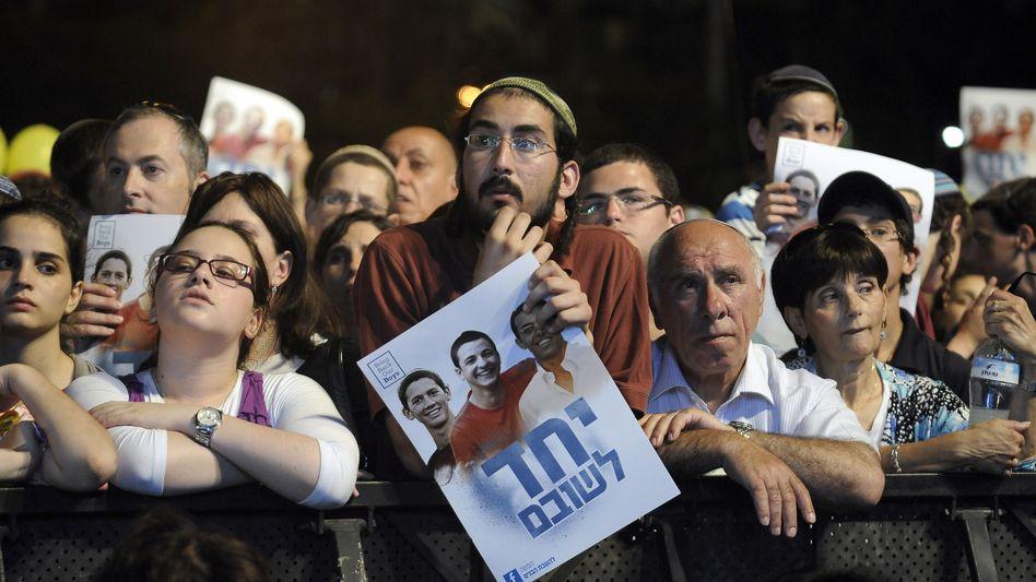Kundgebung für getötete Teenager (im Juni): Schusswechsel im Westjordanland
