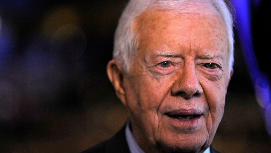 """Jimmy Carter (2008): """"Er fühlt sich besser und freut sich darauf, bald heimkehren zu können"""""""