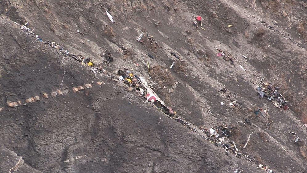 Absturz von Germanwings-Airbus: Einsatz in den französischen Alpen