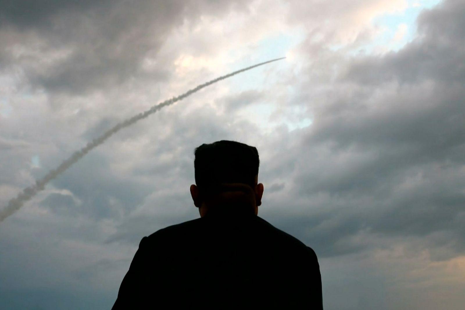 Nordkorea Rakete Kim Jong Un