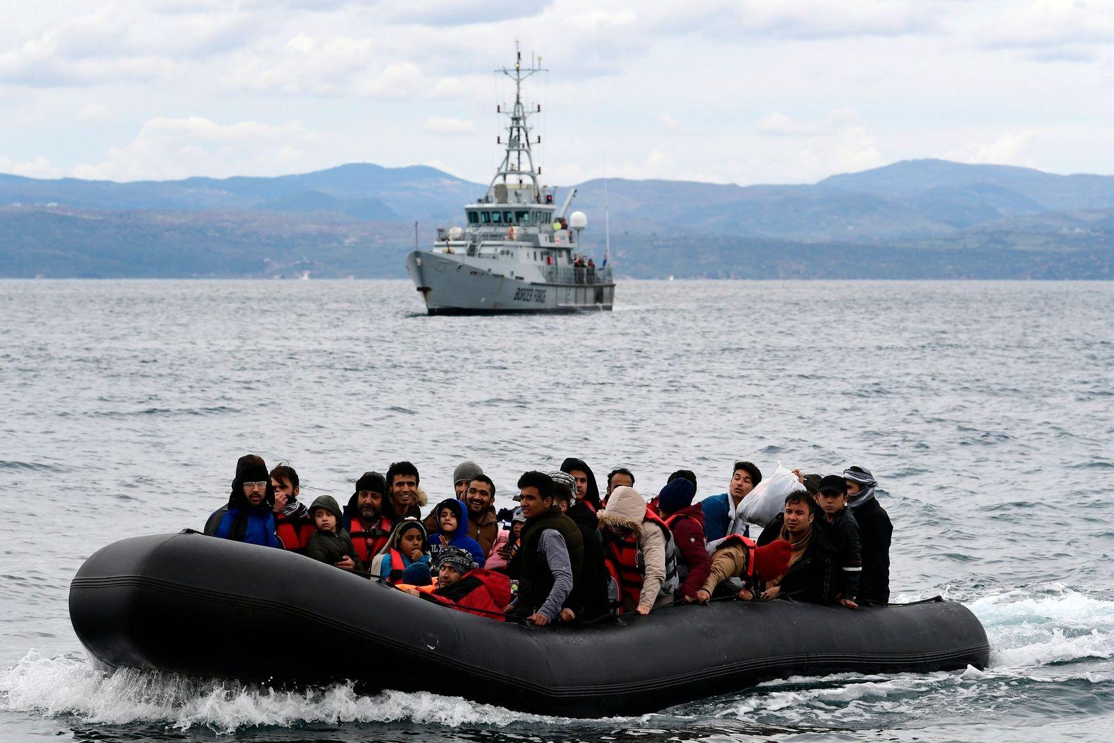 Europe Frontex Migrants