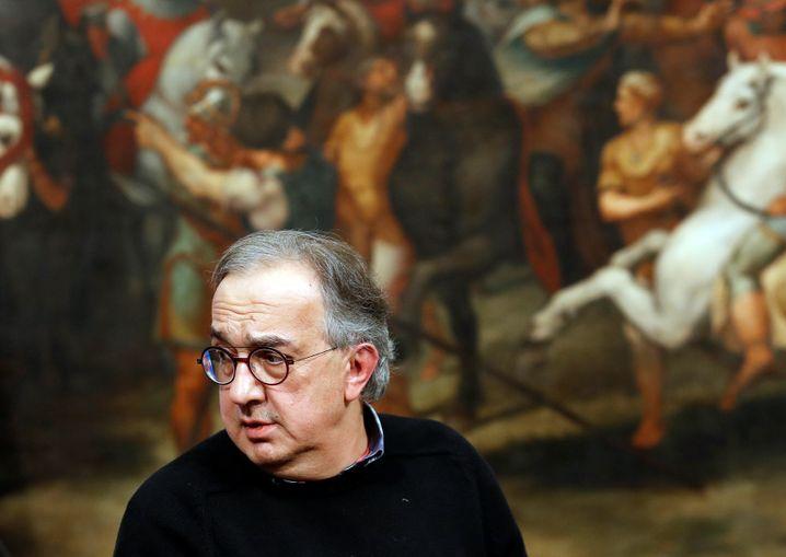 Fiat-Chrysler-Chef Sergio Marchionne