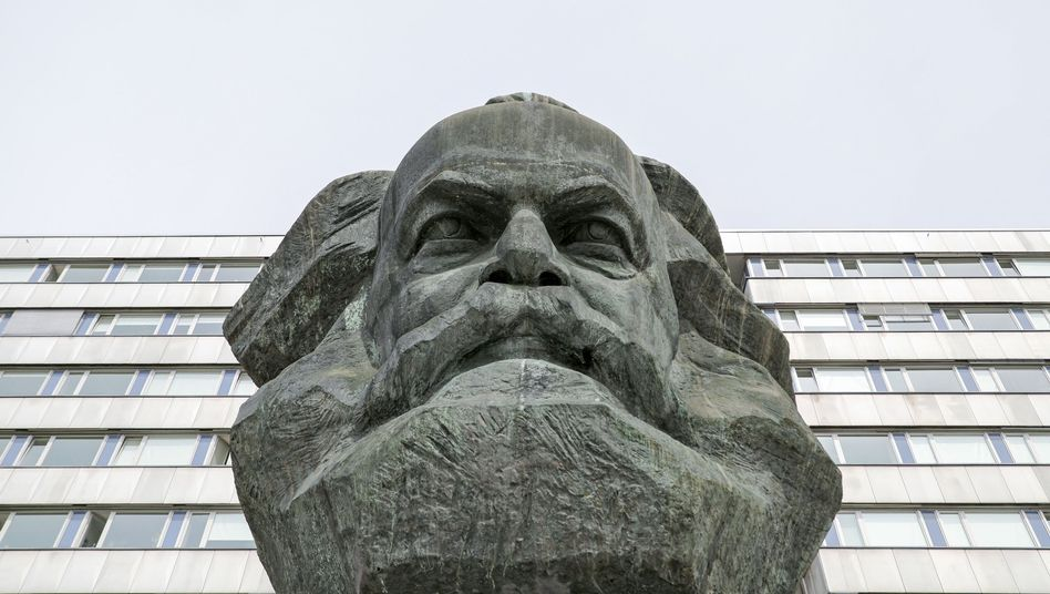 Karl-Marx-Monument in Chemnitz