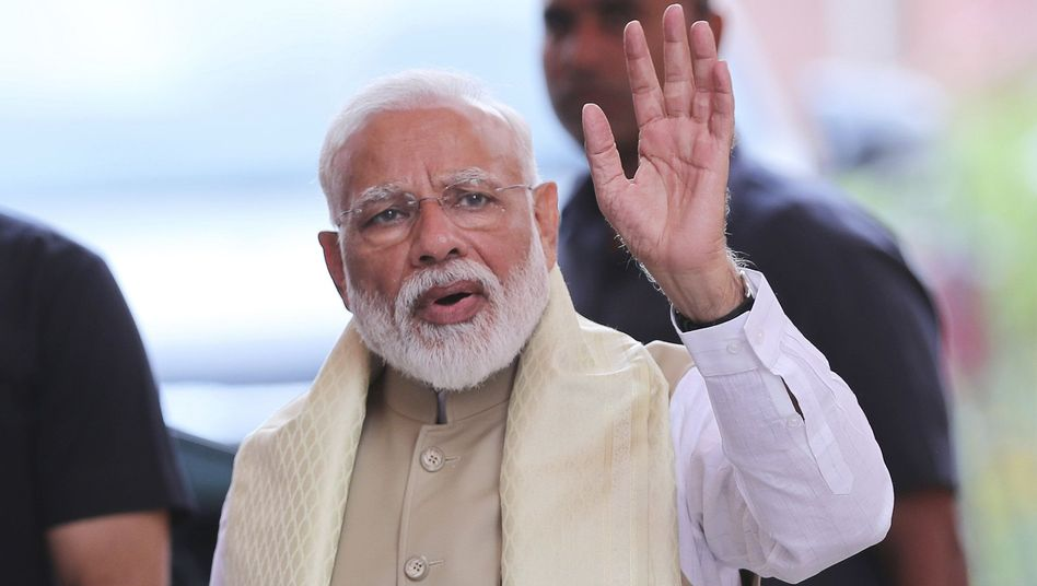 Siegessicher: Indiens Premier Narendra Modi