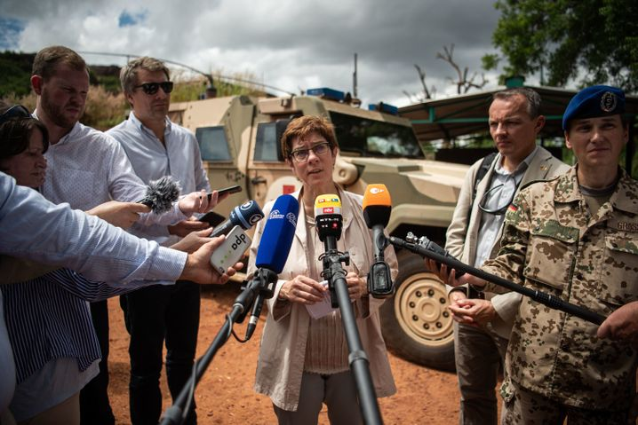 Annegret Kramp-Karrenbauer in Mali