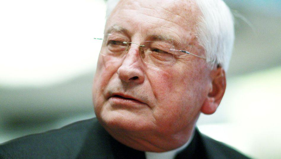 Der frühere Bischof Walter Mixa: Künftig als Berater des Vatikans aktiv