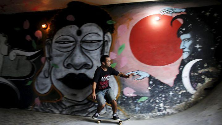 Haus in Brasilien: Mit dem Skateboard durchs Fenster