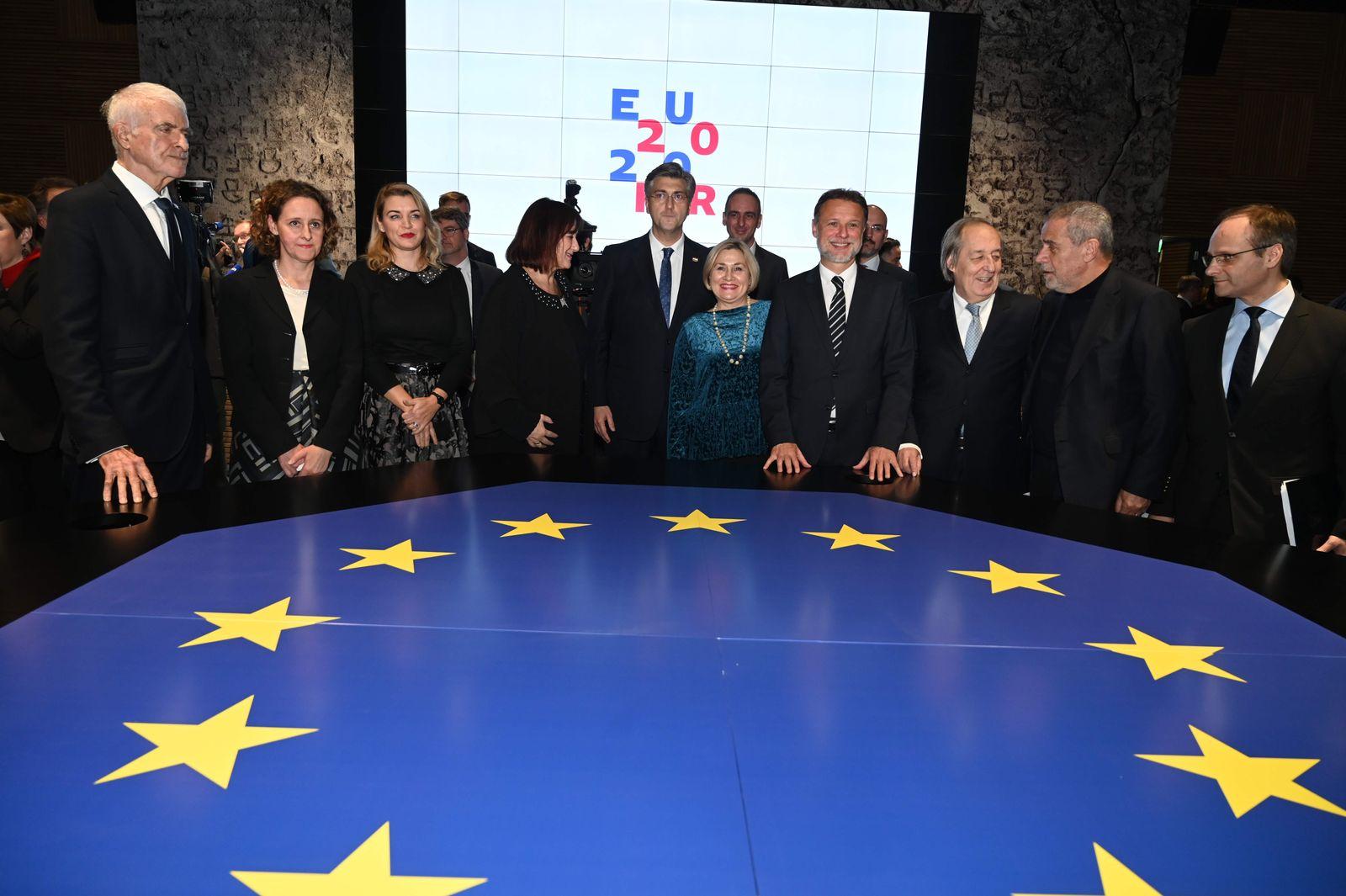 Kroatien EU-Ratspräsidentschaft
