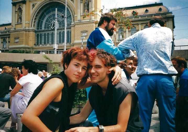 Daniela und Geralf in Budapest