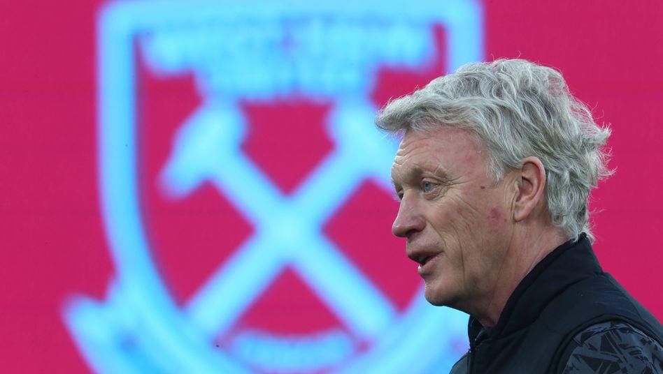 Der Schotte David Moyes ist bereits zum zweiten Mal Coach von West Ham United