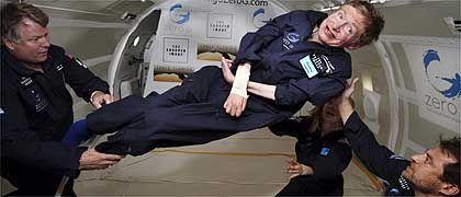 """Stephen Hawking in der Schwebe: """"Ich hätte immer weiter machen können"""""""