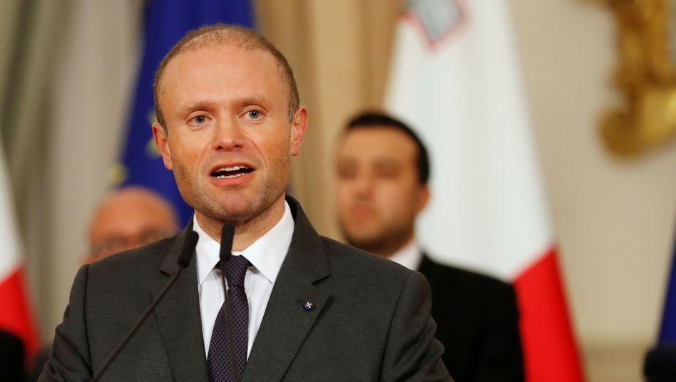 Maltas Regierungschef Joseph Muscat
