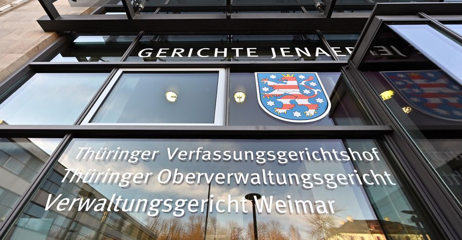 Verwaltungsgericht in Weimar: »Keine gesundheitlichen Bedenken«